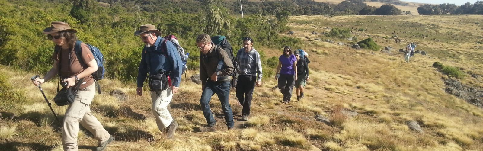 Photo of Trekking in Ethiopia